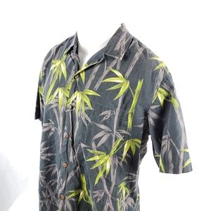 Styled By RJC Mens Hawaiian Button Front Shirt XL